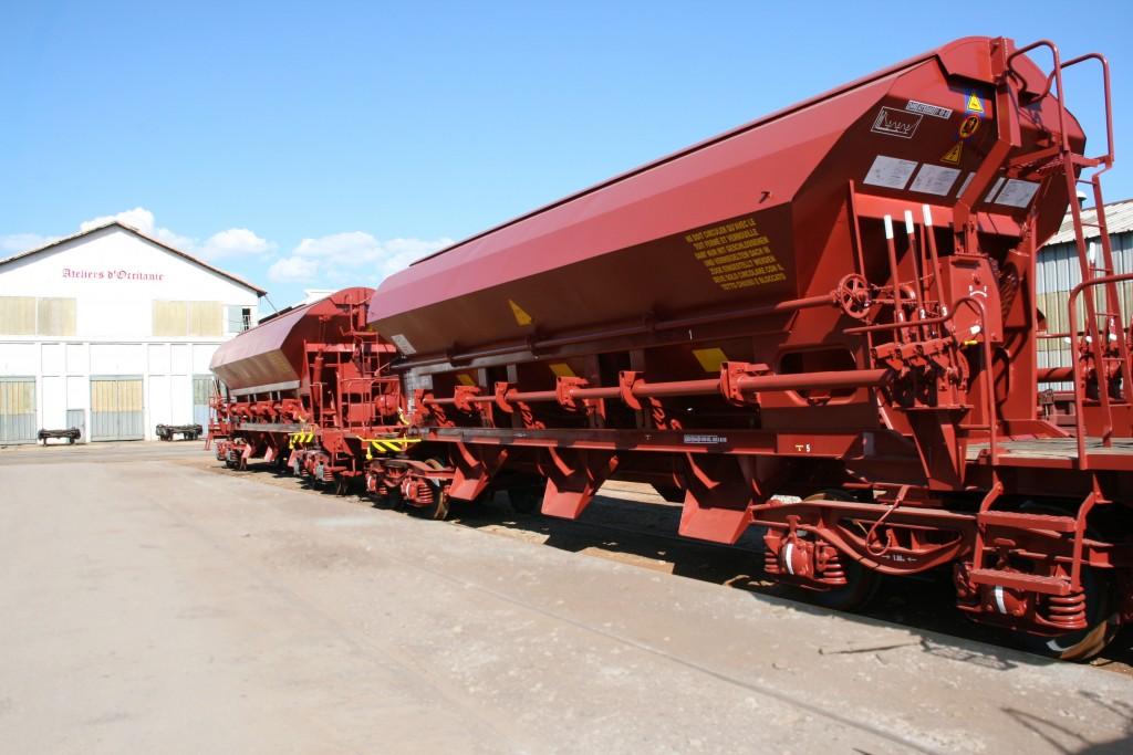 Présentation des Ateliers d'Occitanie - Photo de wagon en maintenance